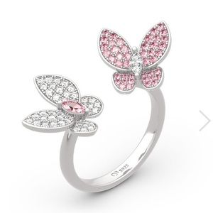 """""""spring is Coming"""" Fabulous Butterfly Ring!! NWT!"""